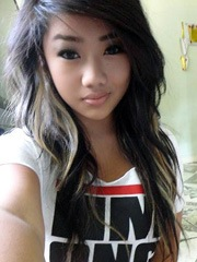 Young asian teens with beautiful face,..