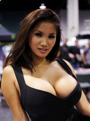 These sexy asian babes with their big..