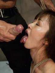 Japanese masseuse captured and fucked..